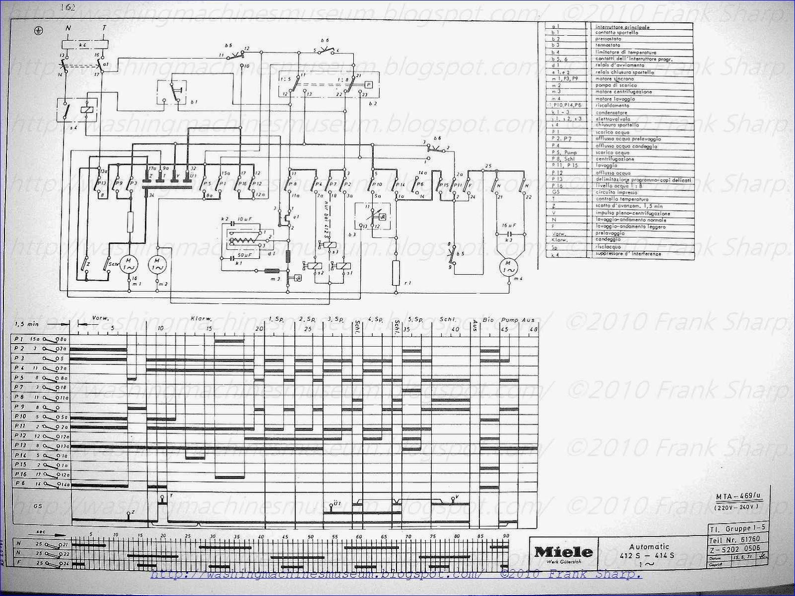 Miele Wiring Diagram Library Maytag Oven 412s 414s Timer Holzer Mta 469u Schematic