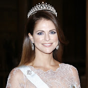 Style of Princess Madeleine of Sweden. jewelry, diamonds, diamond earrings, diamond rings, diamond necklaces, gold necklaces, gold bracelets, dresses,  clothes, clothing, shoe, wedding dress