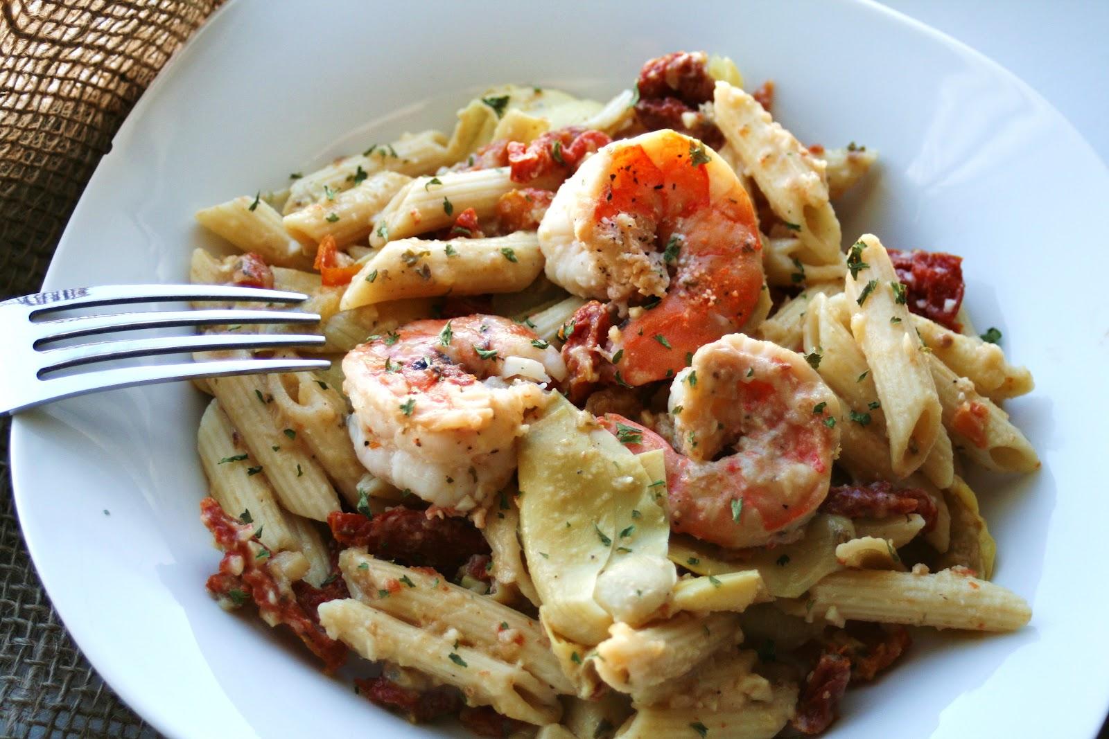 Sun dried tomato and artichoke pasta recipes