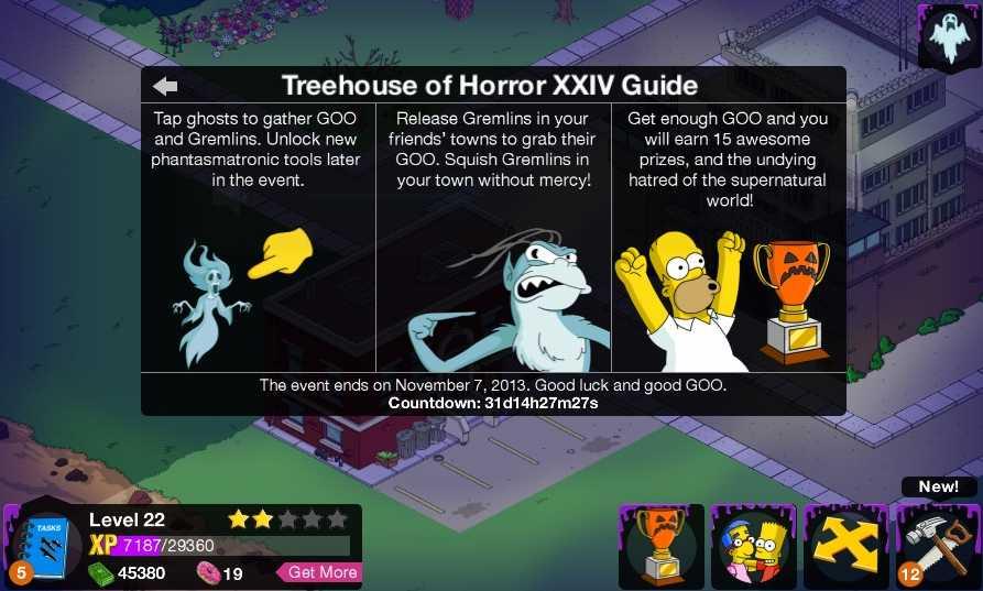Simpson friend level prizes