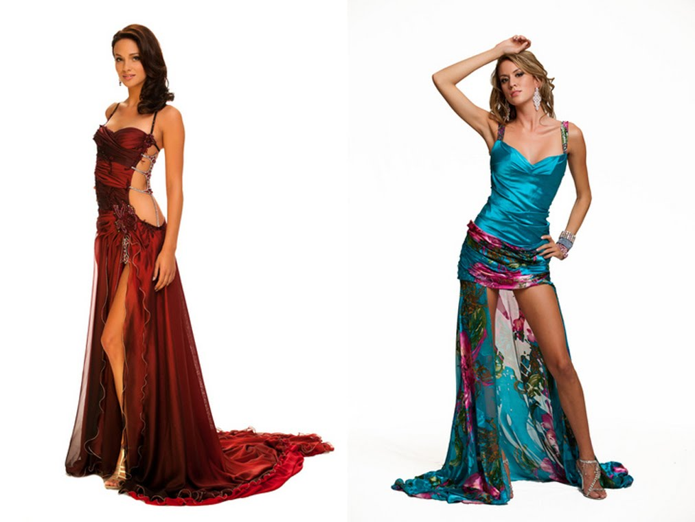Contemporary Long Stripper Gowns Motif - Images for wedding gown ...