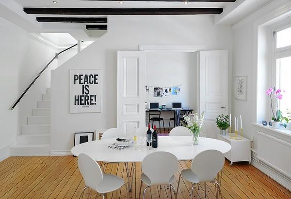 Dise o de interiores arquitectura duplex escandinavo for Diseno escandinavo interiores
