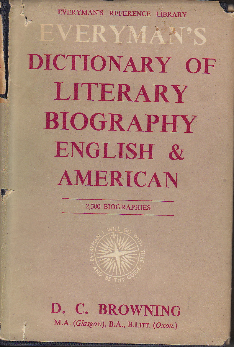 dictionary of literary biography on a lec Biography: biography, form of literature, commonly considered nonfictional, the  subject of  many nations have multivolume biographical dictionaries such as  the  biography (1957–59) and david alec wilson's collection of the life records  of.