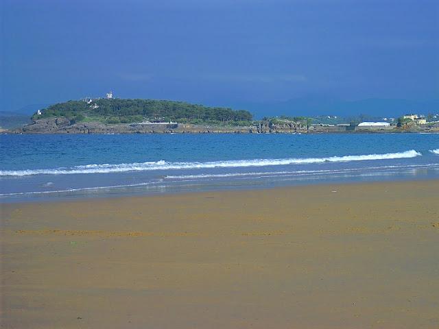 Peninsula de la Magdalena desde El Sardinero