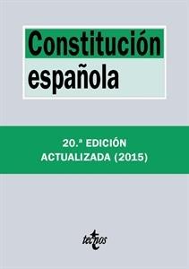 Los más Vendidos: Número 10. Constitución Española. Actualizada 2015.