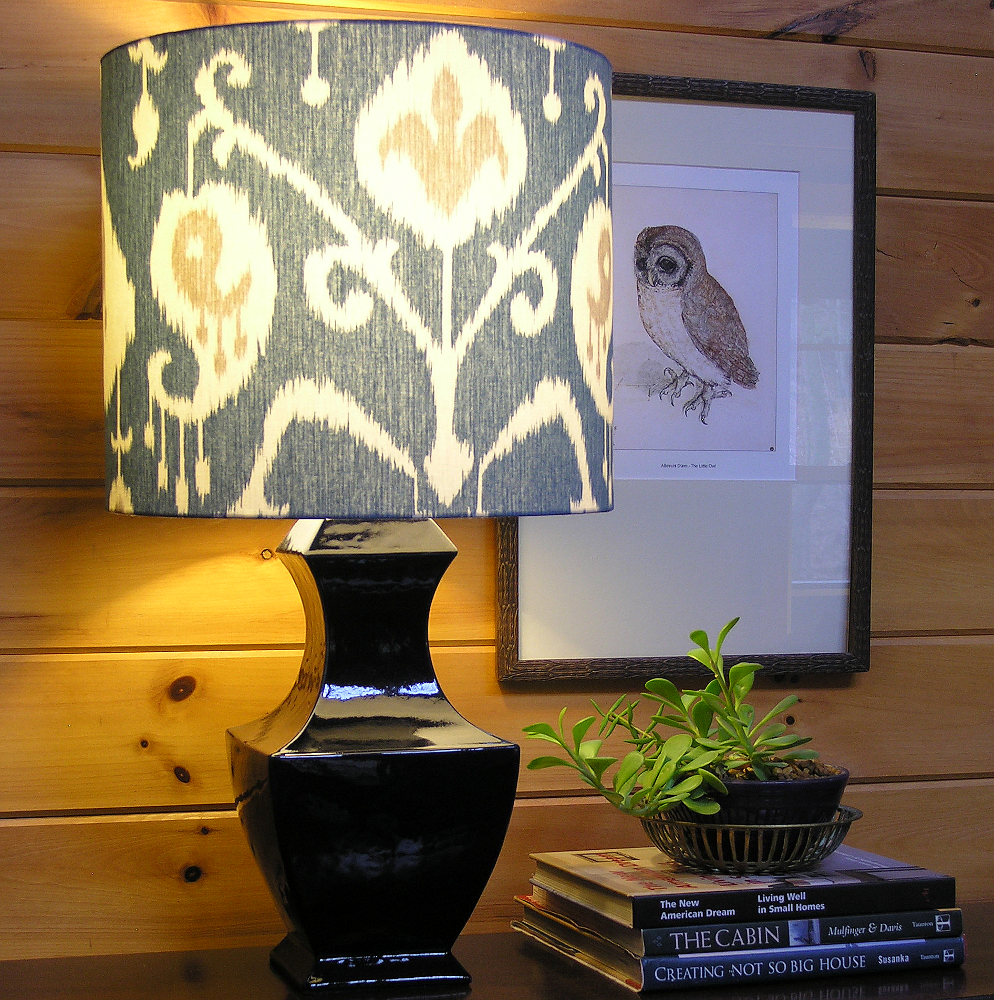 Custom Lamp Shade: Giveaway: Custom Lampshades from Cruel Mountain,Lighting