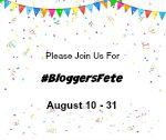 #BloggersFete