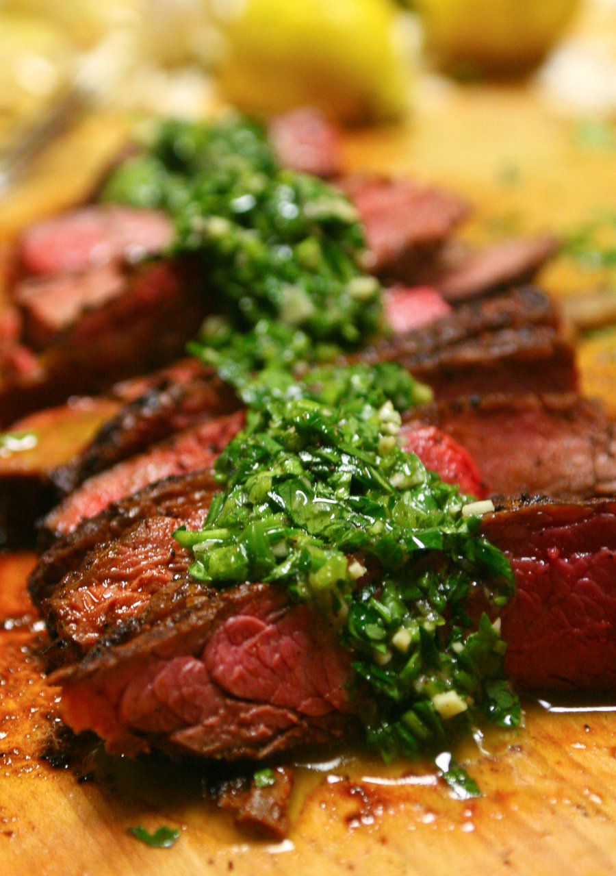 Kali's Temple of Doom: Steak and Chimichurri