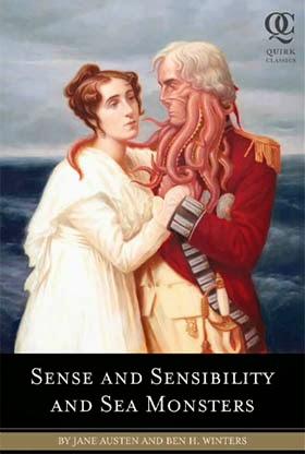 Portada Sentido y sensibilidad y monstruos marinos
