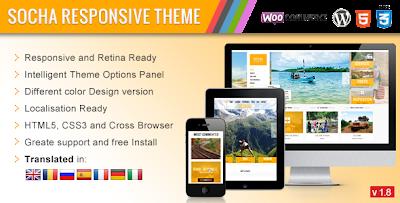 ThemeForest – Socha v.1.8 – Responsive WordPress Theme
