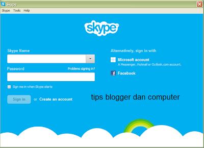Download versi terbaru Skype dan cara installnya