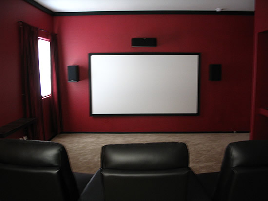 Home design interior exterior decorating remodelling home theater screens tend to be some sort - Screens in home gesign ...
