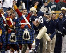 TOUCHDOWN IRISH!
