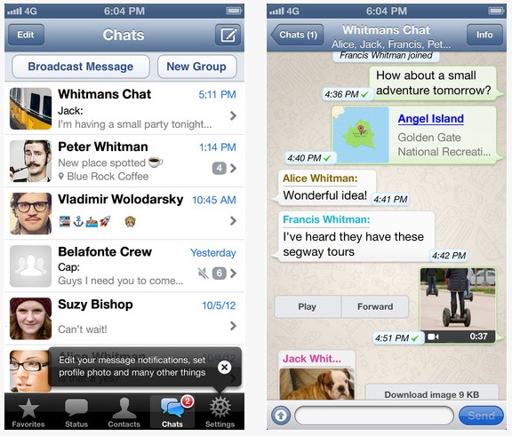Download Whatsapp for Android,Nokia s40,Symbian,Blackberry,Iphone and