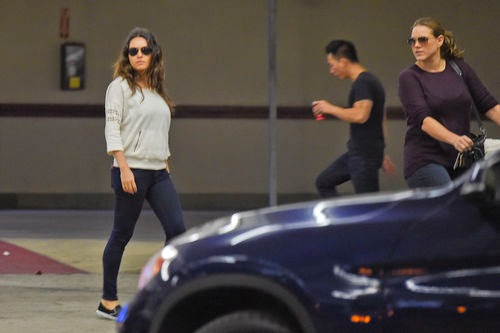 A few weeks after birth | Wow! Mila Kunis shows her great body after baby