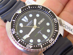 SEIKO DIVER 6309 7040 BLACK DIAL KANJI DAY - BLACK BEZEL - AUTOMATIC