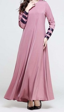 NBH0413 HIDNI JUBAH (NURSING FRIENDLY)