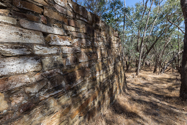 stone wall spring gully mine