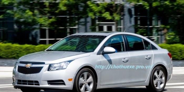 Xe cưới Chevrolet Cruze- dịch vụ cho thuê xe giá rẻ tại Đức Vinh Trans