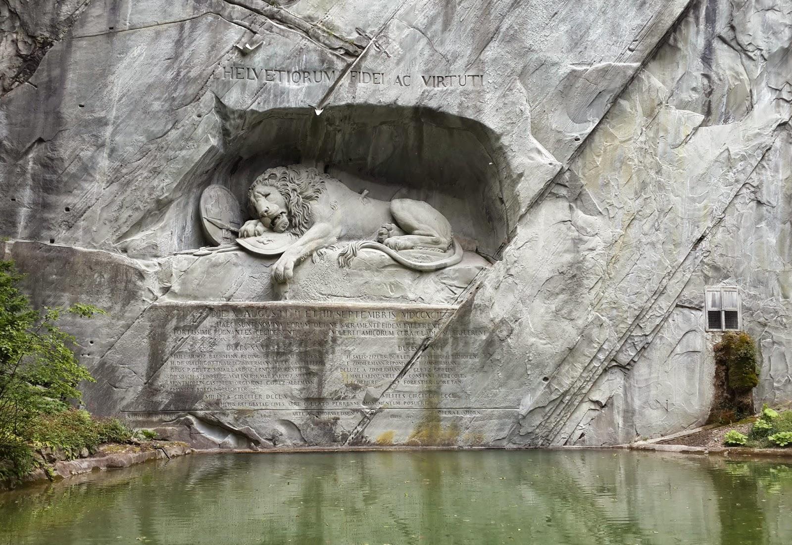 Lion Monument Lucerne Photos