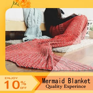 uy Soft Mermaid Blanket in Dressthat