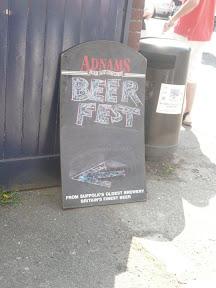 Beer Festival Sign