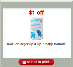 Target Up and Up Formula