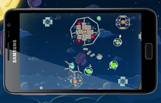 Angry Birds Space for Android SS