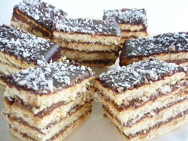 Čokoladni kremasti keks kolač