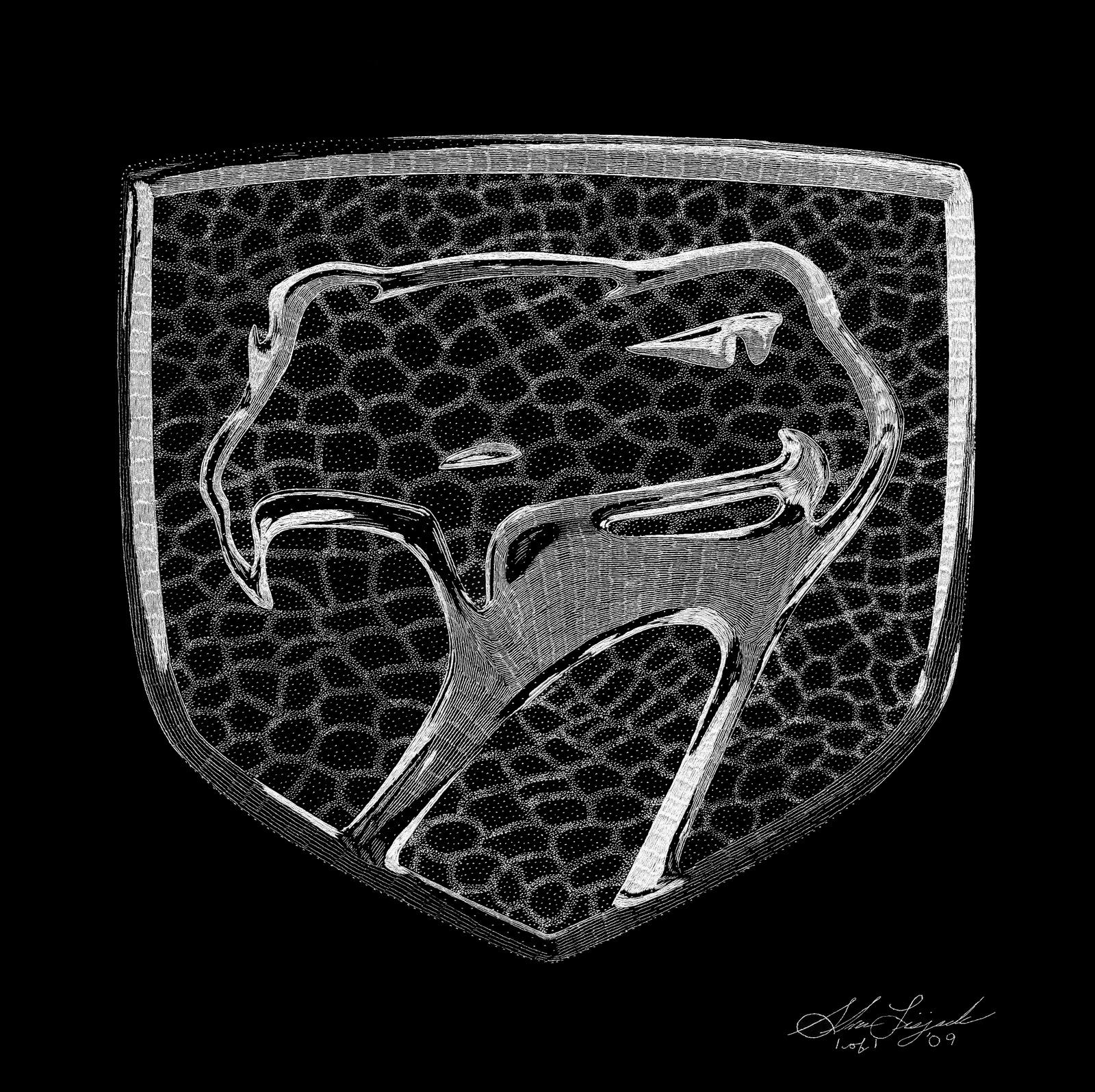 Exotic Engravings: Dodge Viper Emblem