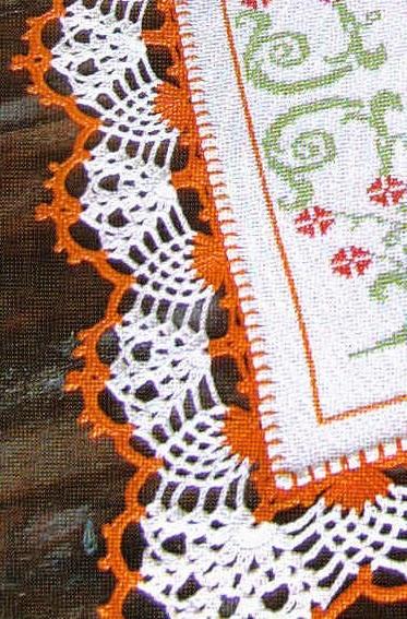 Patrones crochet ganchillo graficos puntillas muy - Puntas de ganchillo ...