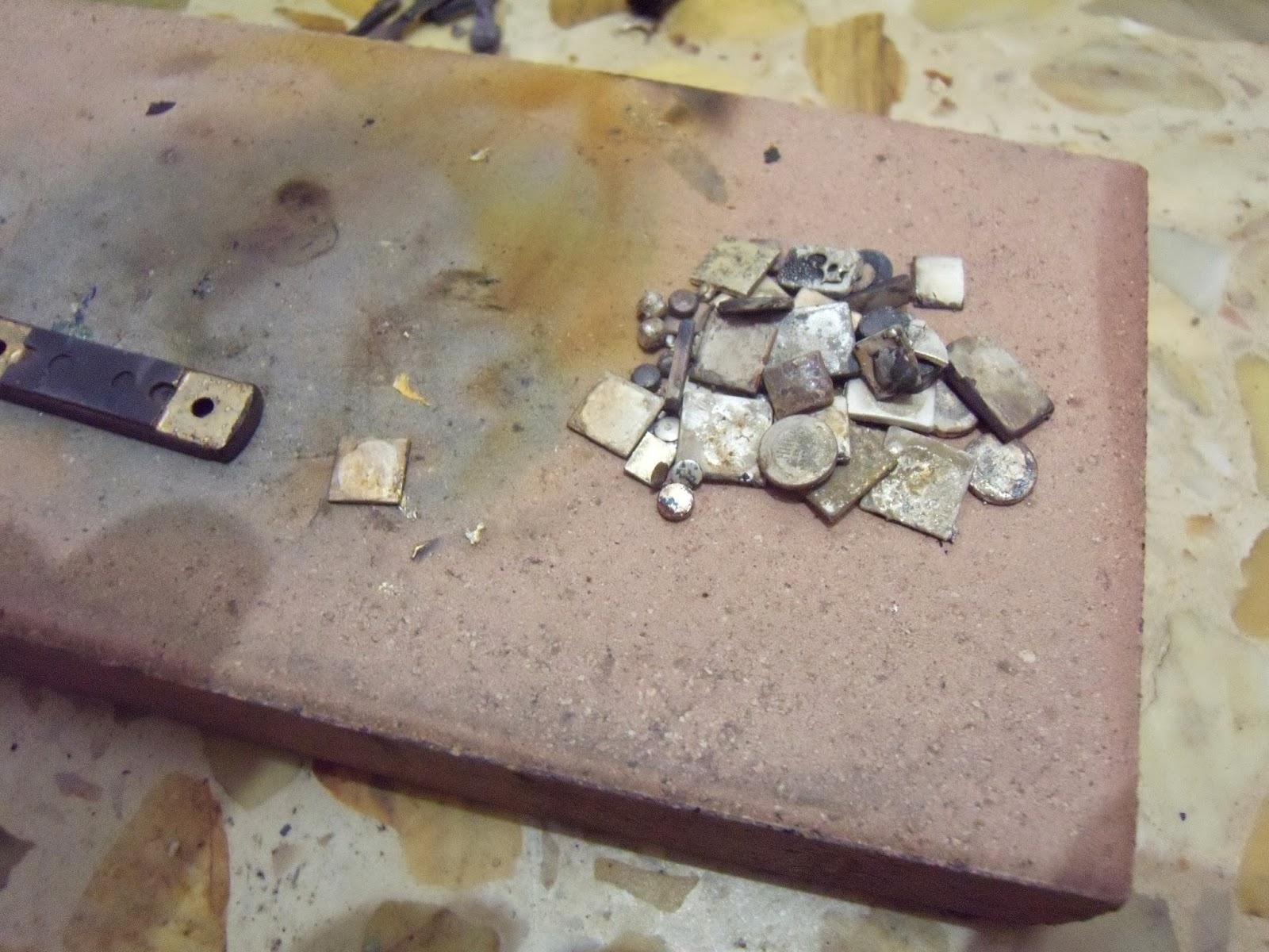 Recuperacion de oro y plata de chatarra electronica - Como se pule la plata ...