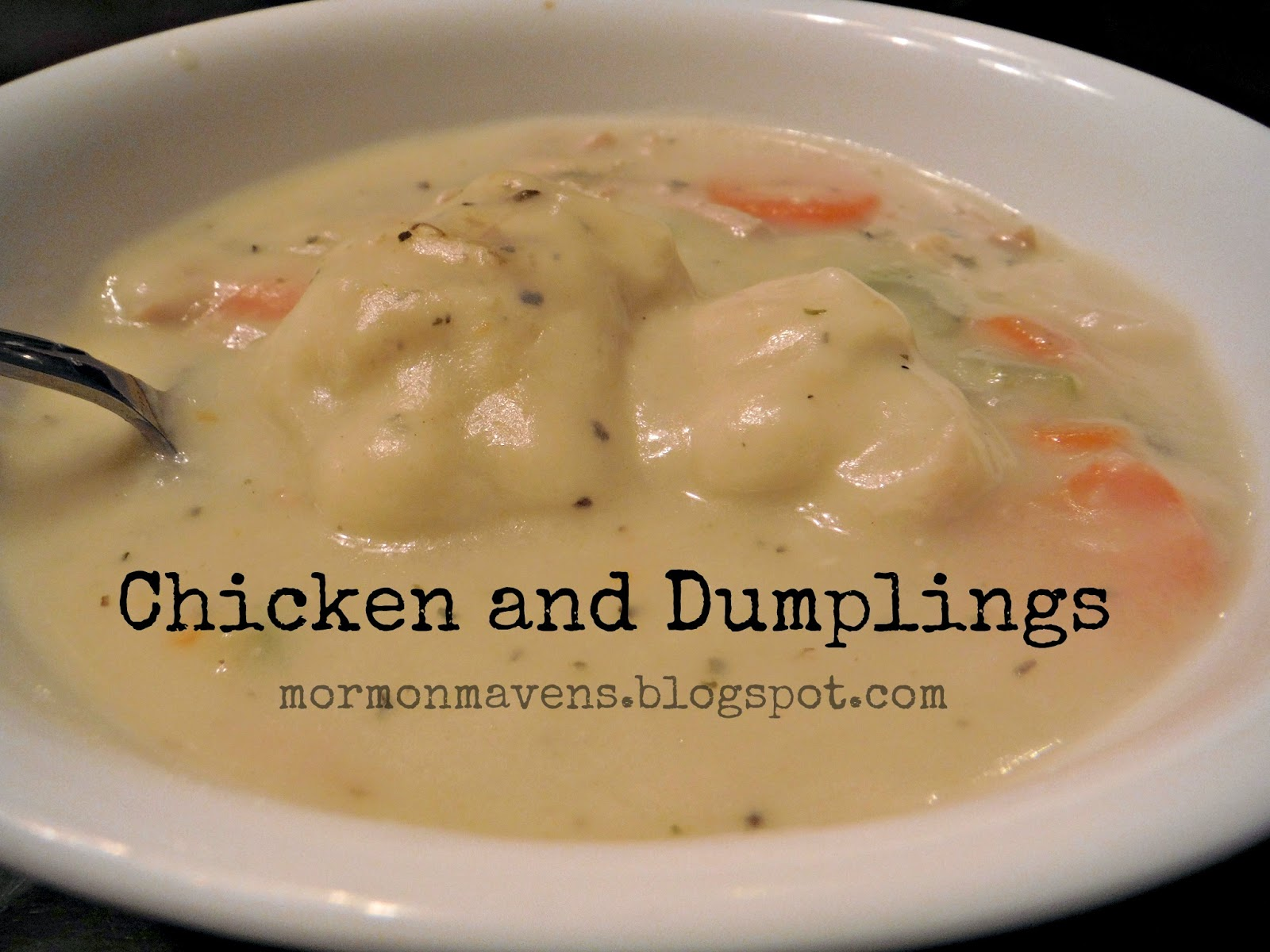 Mormon Mavens in the Kitchen: Chicken and Dumplings