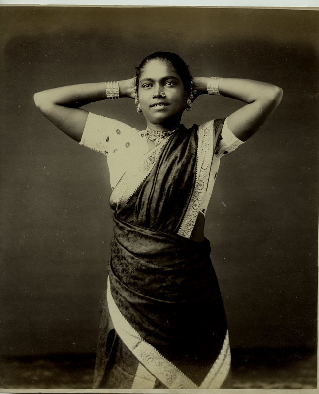 Tamil Woman from Candy, Ceylon (Sri Lanka) - 1880's