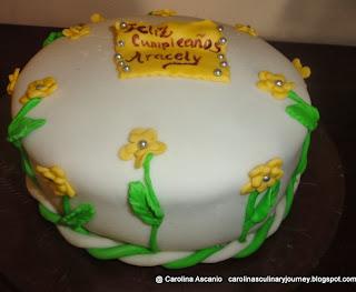 Torta de Chocolate rellena con Dulce de Leche - Chocolate Cake with Dulce de Leche Filling