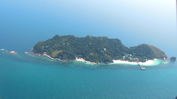 keindahan pulau rawa