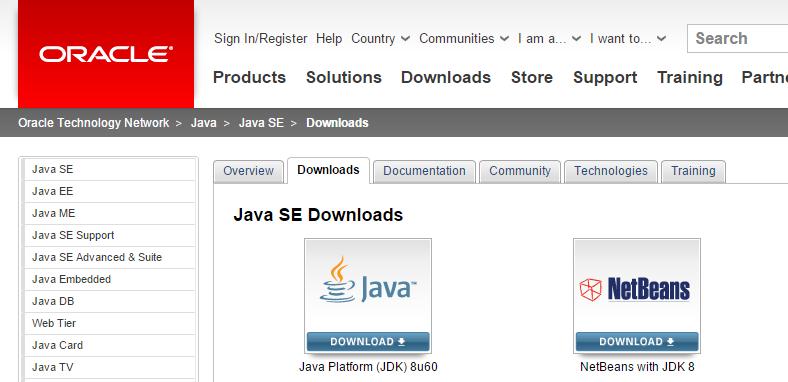 Descargar JDK 7 para Android Studio