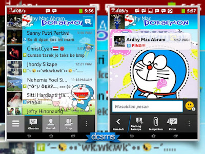 Download Mod BBM Versi Doraemon