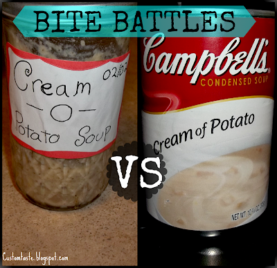 Bite Battles: Cream-O-Potato Soup by Custom Taste