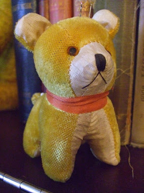 An Old Teddy Pin Cushion!