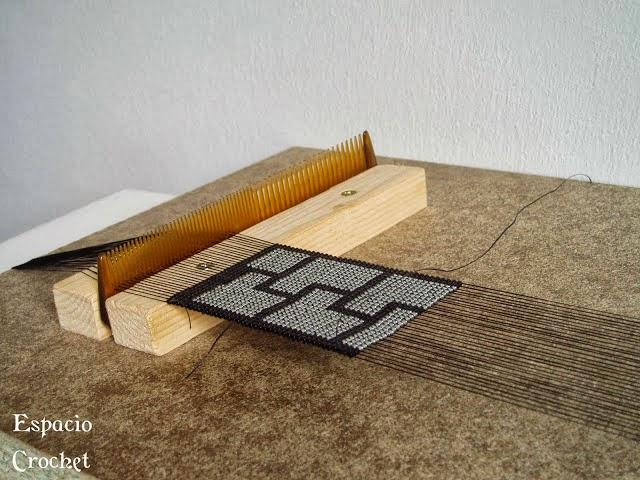 Telar para abalorios en Recicla Inventa