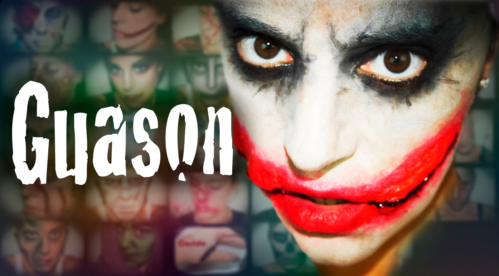 halloween makeup guason - silvia quirós