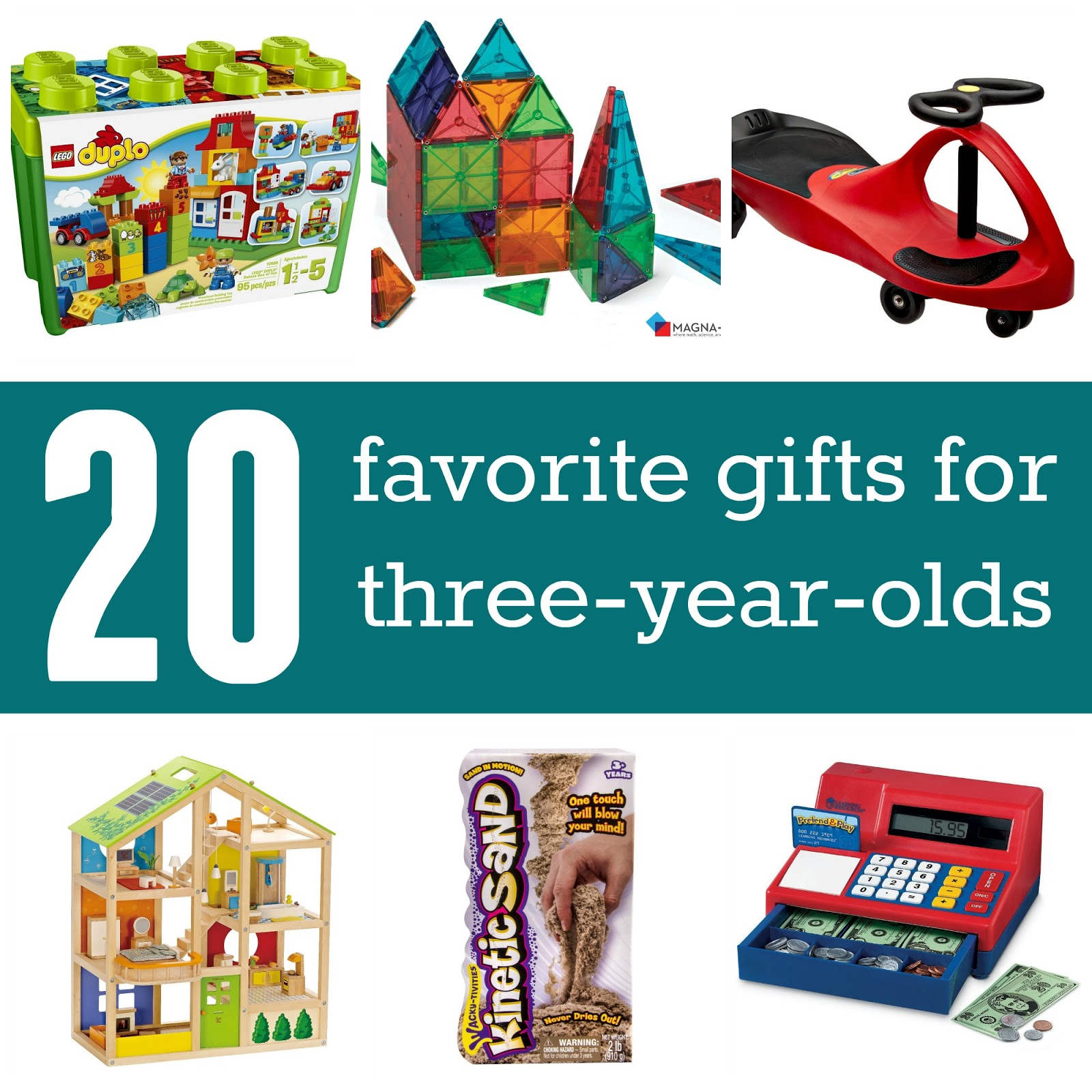 Top Gifts for 3 Year Olds Pictures