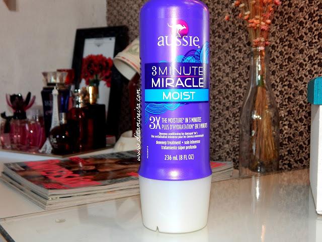 Aussie 3 Minute Miracle Moist: Produto milagroso!