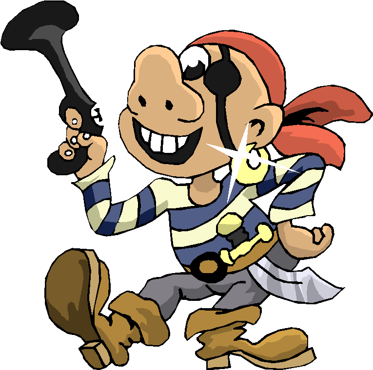 Pirates Funny Cartoon Free Clipart