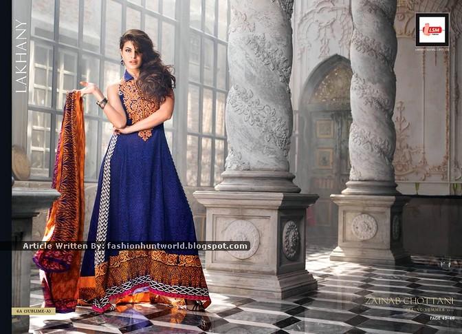 Zainab Chottani Spring/Summer 2015 | LSM Fabrics Designer Series 2015 By Zainab Chottani
