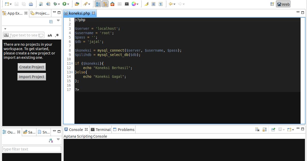 Cara Install Aptana Studio 3 Di Ubuntu Gito Arjuna