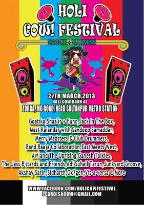 Holi Cow Festival 2013