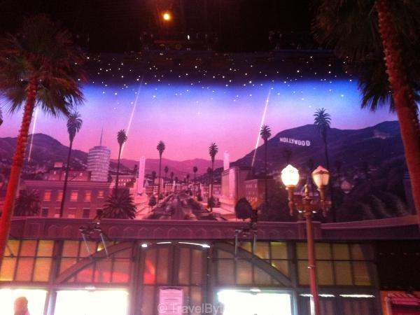 Inside Walt Disney Studios Park Studio 1