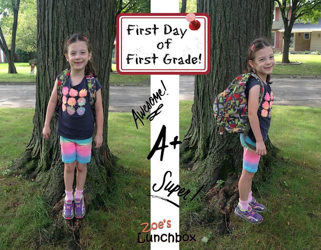 Zoe's Lunchbox 1st Grade
